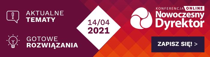 librus konferencja nowoczesny dyrektor KND 2021 zapisy online